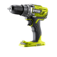 Perceuse-visseuse 18V - 2 vitesses - 50 Nm - 500-1800 tr/min - 24 positions - mandrin 13 mm RYOBI R18DD3-0 - 5133002889