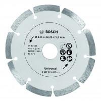 DISQUE DIAMANTE MATERIAUX 125MM BOSCH - 2607019475