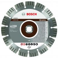 DISQUE DIAMANTE Best ABRASIVE125x22,23  BOSCH - 2608602680