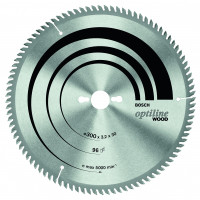 LAME CIRCULAIRE OPTILINE T 250x30x3,2 60D  BOSCH - 2608640665