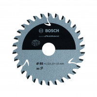 Lame de scie circulaireu Sans-fil STD Mutli-Mat 85x15x30T BOSCH - 2608837752