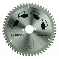LAME CIRCULAIRE SPECIAL 156x2x12,7MM 42D BOSCH - 2609256898