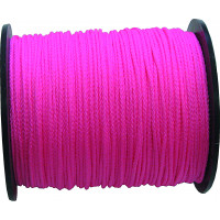 CORDEAU POLYPRO ROSE FLUO 1,5MM 200M
