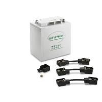Lot de batterie pour remplacement KARCHER - 66542540