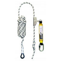 Antichute mobile sur corde d.12 mm long. 10 m avec absorbeur LEVAC - 3803A100