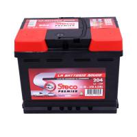 Batterie 12V 66Ah 650A 242x175x190 Gamme Rouge STECO PREMIER STECOPOWER - 204
