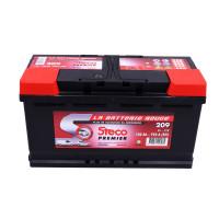 Batterie 12V 100Ah 920A 353x175x190 Gamme Rouge STECO PREMIER STECOPOWER - 209