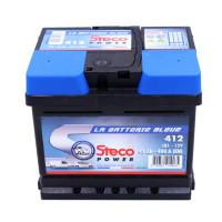Batterie 12V 45Ah 400A 207x175x175 Gamme Bleue STECOPOWER - 412