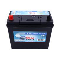 Batterie 12V 45Ah 400A 237x134x226 Gamme Asiatique STECOPOWER - 423