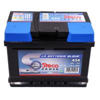 Batterie 12V 60Ah 510A 242x175x175 Gamme Bleue STECOPOWER - 434