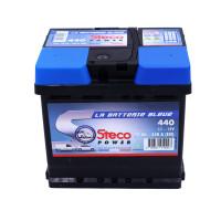 Batterie 12V 50Ah 440A 207x175x190 Gamme Bleue STECOPOWER - 440