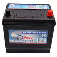 Batterie 12V 60Ah 500A 230x173x220 Gamme Asiatique STECOPOWER - 455
