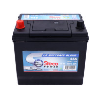 Batterie 12V 60Ah 500A 230x173x220 Gamme Asiatique STECOPOWER - 456