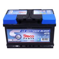 Batterie 12V 70Ah 640A 278x175x175 Gamme Bleue STECOPOWER - 470