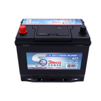 Batterie 12V 70Ah 600A 269x173x218 Gamme Asiatique STECOPOWER - 477