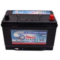 Batterie 12V 95Ah 800A 303x175x227 Gamme Asiatique STECOPOWER - 492