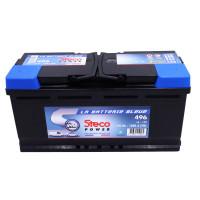 Batterie 12V 110Ah 1000A 393x175x190 Gamme Bleue STECOPOWER - 496