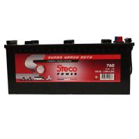 Batterie 12V 200Ah 1200A 512x223x220 Gamme Super Heavy Duty STECOPOWER - 760