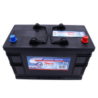 Batterie 12V 110Ah 800A 345x173x233 Gamme Bleue Heavy Duty STECOPOWER - 916