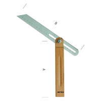 FAUSSE EQUERRE BASE BOIS 250MM METRICA - 69650