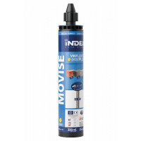 Boite de Chevilles chimiques 300 ml. 12 unités INDEX-MOVISE300