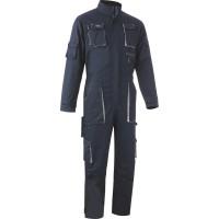 Combinaison de travail 1 zip - marine/gris SODISE - 65503