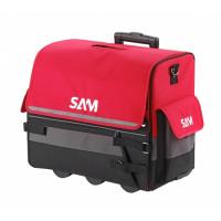 Valise textile de 33 litres avec trolley SAM OUTILLAGE - BAG7NZ