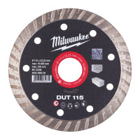 DISQUE DIAMANT DUT 115MM (X1) MILWAUKEE ACCESSOIRES - 4932399526
