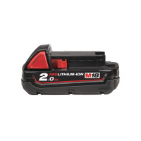 BATTERIE MILWAUKEE M18 B2 REDLITHIUM-ION 18V , 2AH - 4932430062