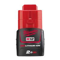 Batterie MILWAUKEE M12 B2 REDLITHIUM-ION 12V , 2Ah- 4932430064