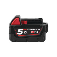 BATTERIE MILWAUKEE M18 RED LITHIUM 5.0 AH 18V LI-ION-4932430483