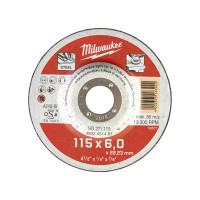 DISQUE MEULER 115MM ÉPAIS. 6 MM CONTRACTOR - 1PC MILWAUKEE ACCESSOIRES - 4932451481