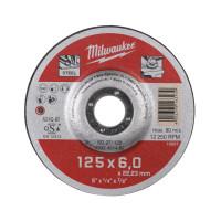 DISQUE MEULER 125MM ÉPAIS. 6 MM CONTRACTOR - 1PC MILWAUKEE ACCESSOIRES - 4932451482