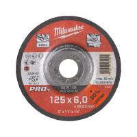 DISQUE MEULER 125 ÉPAIS. 6 MM PRO+ -1PC MILWAUKEE ACCESSOIRES - 4932451502