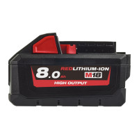 BATTERIE M18 ™ HIGH OUTPUT ™ 8,0 AH MILWAUKEE - 4932471070