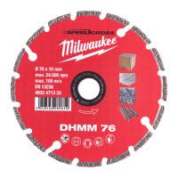 Disque diamand multi materiaux 76 mm - 1 pc MILWAUKEE ACCESSOIRES - 4932471333
