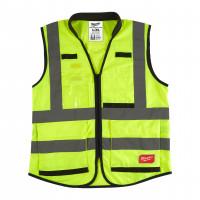 gilet premium haute visibilté jaune - l/xl - 1 pc MILWAUKEE - 4932471896