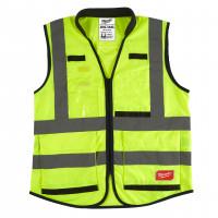 gilet premium haute visibilté jaune - xxl - 1 pc MILWAUKEE - 4932471897