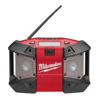 RADIO DE CHANTIER MILWAUKEE 12V SANS BATTERIE C12 JSR-0 - 4933416365