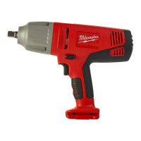 BOULONNEUSE À CHOCS MILWAUKEE 28V 5,0AH 440 NM CARRÉ 1/2'' SANS BATTERIES NI CHARGEUR EN COFFRET HD BOX HD28 IW-502X - 4933431642