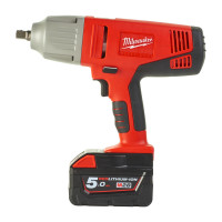 BOULONNEUSE À CHOCS MILWAUKEE 28V 5,0AH 440 NM CARRÉ 1/2'' EN COFFRET HD BOX HD28 IW-502X - 4933448545