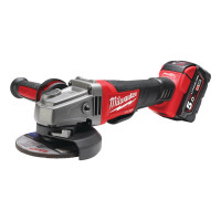 MEULEUSE D'ANGLE FUEL MILWAUKEE 18V 5 AH 125MM DMS M18 CAG125XPD-502X EN COFFRET HDBOX- 4933448864