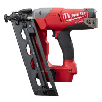 CLOUEUR INCLINÉ MILWAUKEE 16 GA M18 FUEL™ LIVRÉ SANS BATTERIES NI CHARGEUR EN CARTON M18CN16GA-0 - 4933451569