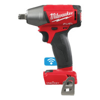 BOULONNEUSE À CHOCS FUEL MILWAUKEE ONE KEY CARRÉ 1/2'' 18V 4 MODES 40/120/300 NM+ 1 BLUETOOTH LIVRÉE SANS BATTERIES NI CHARGEUR HDBOX M18 ONEIWF12-0X