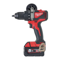 PERCEUSE VISSEUSE M18 BLDD2-502X MILWAUKEE BRUSHLESS 18V 5,0AH 85 NM - 4933464515