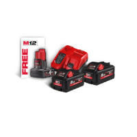 Pack NRJ 18V, 8 Ah HIGH-OUTPUT Red Li-ion, système M18 MILWAUKEE - 4933471073