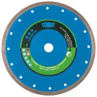 Disque diamant Grès cérame pour scies surtable diam. 230x1,6x22,23 PREMIUM TYROLIT - 639635
