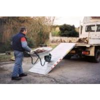 Duarib-RAMPE ALUMINIUM DE GRANDE LARGEUR LONGUEUR 3M LARGEUR 0.60M (vendu à l'unité) - 67618