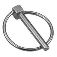 Paire goupille clip diam. 8 x 60 pour échafaudage roulant STI / ST / STL CENTAURE - 257010 (Accessoires Echelles)