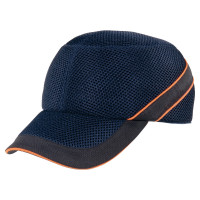 CASQUETTE ANTI-HEURT DELTA PLUS TYPE BASE-BALL AIRCOLTAN MARINE/NO-COLTAAIBM